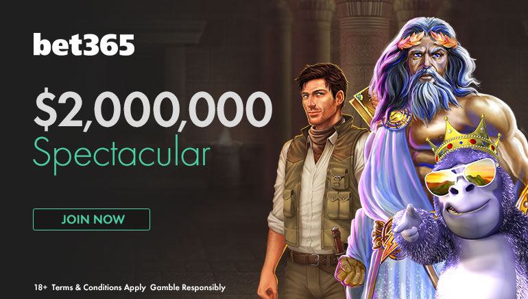 Osvojite visoke nagrade v bet365 ob njihovi majski promociji $2 Million Spectacular