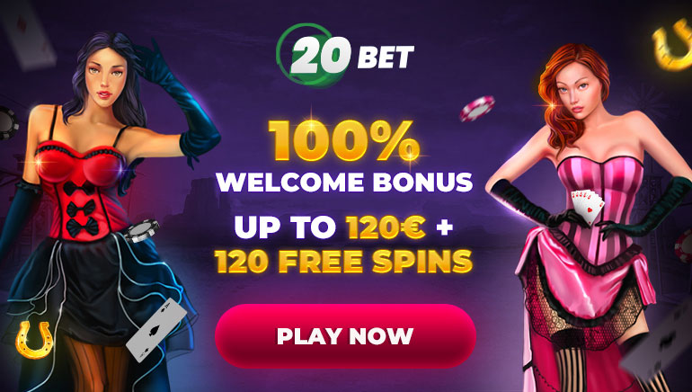 100% Welcome Bonus Up to 120€ + 120 free spins