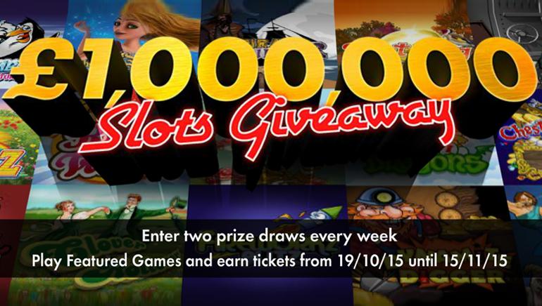 Osvojite bogastvo s sodelovanjem v nagradni igri igralnice bet365 Casino z nagradnim skladom v višini 1.000.000 £ / 1.500.000 $