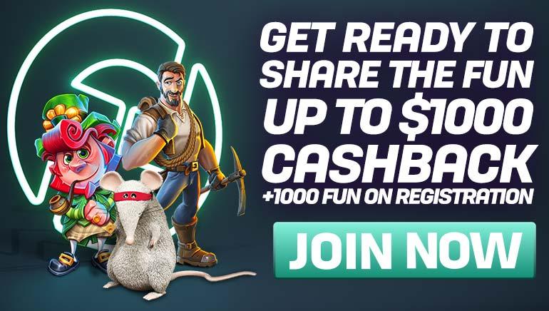 V igralnici CasinoFair vas čakajo razkošne vrnitve denarja in FUN