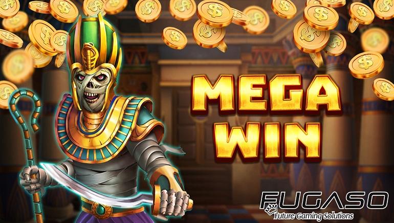 Srečni dobitnik je v igralnici Vulkan Vegas Casino pri FUGASOvi igri Mummy Win Hunters osvojil 82.000 €