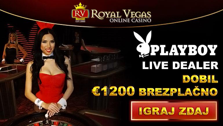 Uživajte v zares kraljevski izkušnji v igralnici Royal Vegas Casino