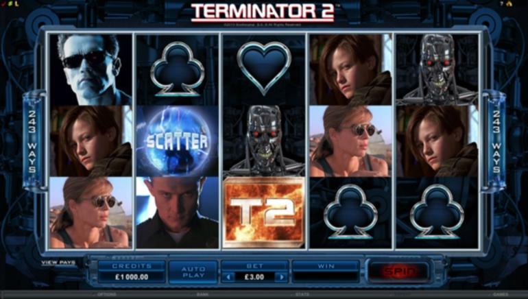 Izdana nova igra: video igralni avtomat Terminator 2 je tu