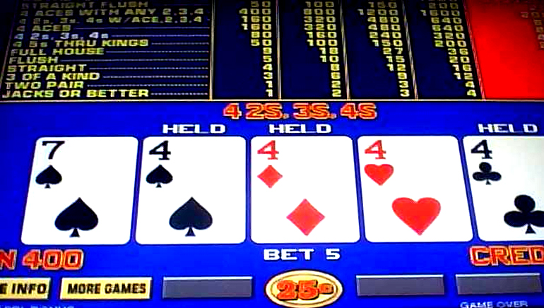 Bonus Video Poker