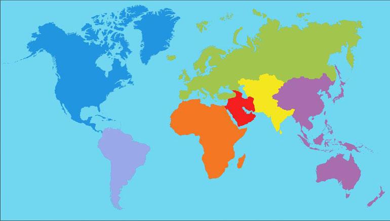 Izberite svojo državo